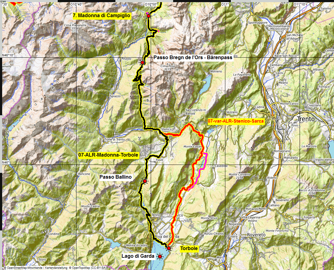 07 map albrecht route